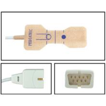 Nellcor ™ Compatible Pediatric Disposable SpO2 Sensor - Textile Adhesive (Box of 24)