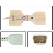 Nihon Khoden Adult Disposable SpO2 Sensor - Textile Adhesive (Box of 24)