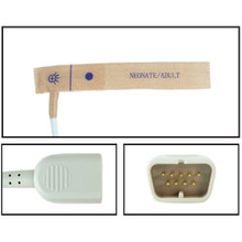 Nihon Khoden Neonate/Adult Disposable SpO2 Sensor - Textile Adhesive (Box of 24)