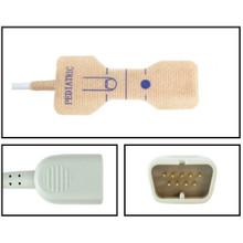 Nihon Khoden Pediatric Disposable SpO2 Sensor - Textile Adhesive (Box of 24)