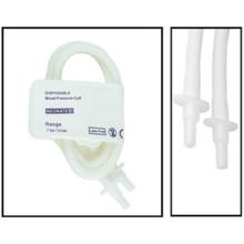 NiBP Disposable Cuff Double Tube  Neonate Size 4 (7-13cm) - TPU (Box of 10)