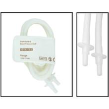 NiBP Disposable Cuff Double Tube  Neonate Size 5 (8-15cm) -  Soft Fiber (Box of 10)