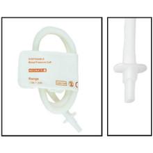 NiBP Disposable Cuff Single Tube Neonate Size 1 (3-6cm) - TPU (Box of 10)