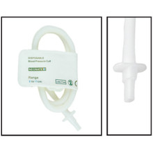 NiBP Disposable Cuff Single Tube  Neonate Size 3 (6-11cm) - TPU (Box of 10)