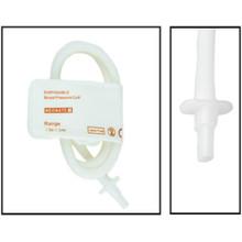 NiBP Disposable Cuff Single Tube Neonate Size 1 (3-6cm) -  Soft Fiber (Box of 10)