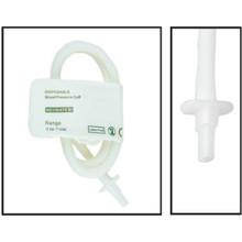 NiBP Disposable Cuff Single Tube  Neonate Size 3 (6-11cm) -  Soft Fiber (Box of 10)
