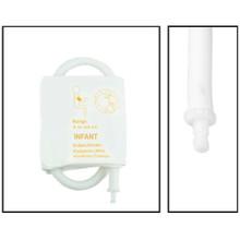 NiBP Disposable Cuff Single Hose Infant (9-14.8cm) - TPU (Box of 5)