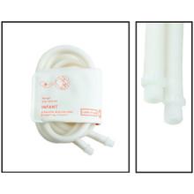 NiBP Disposable Cuff Dual Hose Infant (9-14.8cm) (Screw Fitting) PM08 - Soft Fiber (Box of 5)