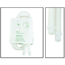 NiBP Disposable Cuff Dual Hose Pediatric (13.8-21.5cm) (Screw Fitting) PM08 - TPU (Box of 5)