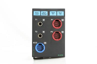 GE Datex-Ohmeda M-ETP Multi Parameter Module UMDX2908 Temp Temperature IBP Invasive Blood Pressure ECG Electrocardiograph Patient Management Monitoring
