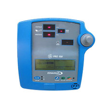 GE Critikon DinaMap Pro 100 Vital Signs Monitor UQGE2105 NiBP Non Invasive Blood Pressure SpO2 Pulse Oximetry Oximeter Patient