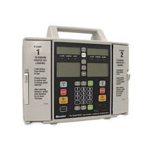 Baxter Flo-Gard 6301 Dual Channel Volumetric Infusion Pump IV Intravenous Fluid Delivery