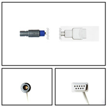 BCI 7 Pin Redal to DB9 SpO2 8' Extension Cable