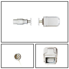 BCI 7 Pin to DB9 SpO2 Extension Cable