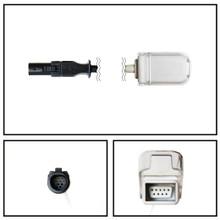 GE Corometrics Hypertronics to DB9 SpO2 Extension Cable