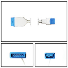 GE Datex-Ohmeda Marquette to TruSignal SpO2 Extension Cable