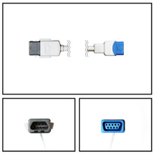 GE Datex-Ohmeda MC3 to TruSignal SpO2 Extension Cable