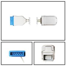 GE Marquette to Nellcor ™ OxiSmart ™ DB9 SpO2 Extension Cable 2006644-001, E9004GE
