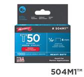 "504M1 T50 1/4"" 6mm Monel"