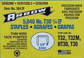 "304IP HT30 & T30 1/4"" 6mm"