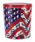 Flags and Stars Tin 2 Gallon