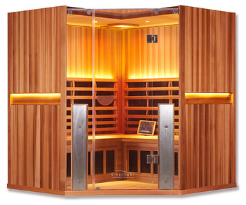 Clearlight Sanctuary C Full Spectrum Sauna Cedar
