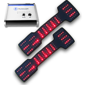 Neurocare 2 Port LED Light System with 2 Neuropathy Boots