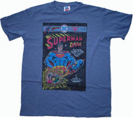 Mens Superman Comic Cover T-Shirt by Junk Food Clothing