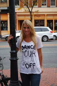 Dance Your Ass Off Womens T-Shirt by Junk Food Clothing