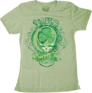 Grateful Dead Boston 1977 Vintage Style Juniors T-Shirt