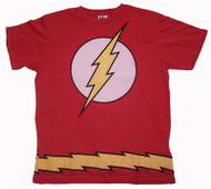 Mens The Flash Costume T-Shirt by Junk Food Clothing
