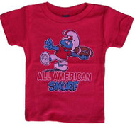 All American Smurf T-Shirt by Junk Food Clothing