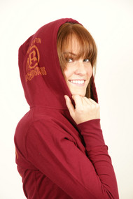 NFL Washington Redskins Zip Up Womens Hoodie by Junk Food Clothing