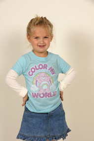 Care Bears Color My World 2Fer T-Shirt by Junk Food Clothing
