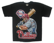 Philadelphia Phillies Angry Batter Major League Baseball Mens T-Shirt