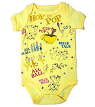 Dr. Seuss Hop on Pop All Over Baby Bodysuit