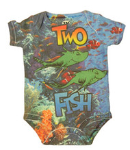 Dr. Seuss Under the Sea Baby Bodysuit