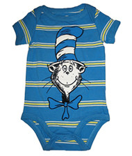 Dr. Seuss Cat in the Hat Smiling Cat Baby Bodysuit