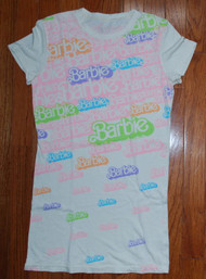 Barbie Logos All Over Girly Vintage T-Shirt by Doe