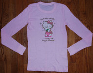 Hello Kitty Womens Thermal Vintage Shirt by Mighty Fine