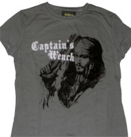 Disney Pirates of the Caribbean Captain's Wench Juniors Vintage T-Shirt