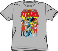 NEW TEEN TITANS ADULT TEE SHIRT