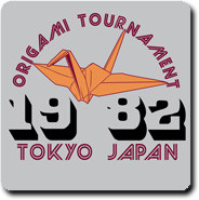 Funny Tees - Origami Tournament 1982 Vintage Style Mens T-Shirt