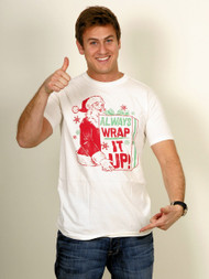 Mens Always Wrap It Up T-Shirt by Junk Food Clothing