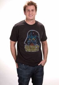 Mens Star Wars Retro Darth Vader T-Shirt by Junk Food Clothing