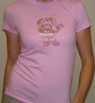 Vintage Rainbow Brite Tickled Pink Girly T-Shirt