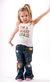 Girl Scouts I'm A Smart Cookie Beater Tank Top by Junk Food Clothing