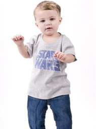 Star Wars Movie Logo Kids Vintage T-Shirt by Junk Food Clothing