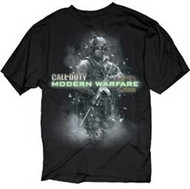 CALL OF DUTY MODERN WARFARE 2 SOLDIER MENS TEE SHIRT