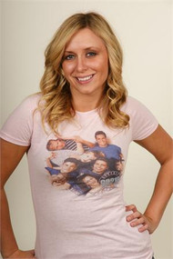 Beverly Hills 90210 The Gang Juniors T-Shirt